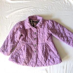 Calvin Klein Purple Jacket Quilted Kids Size 5T